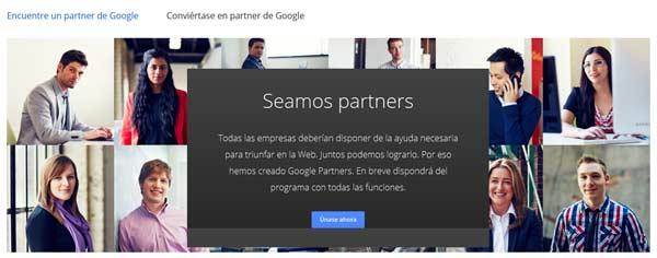 google partners programa de certificación