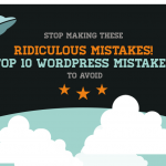 los 10 ridículos errores a evitar en wordpress