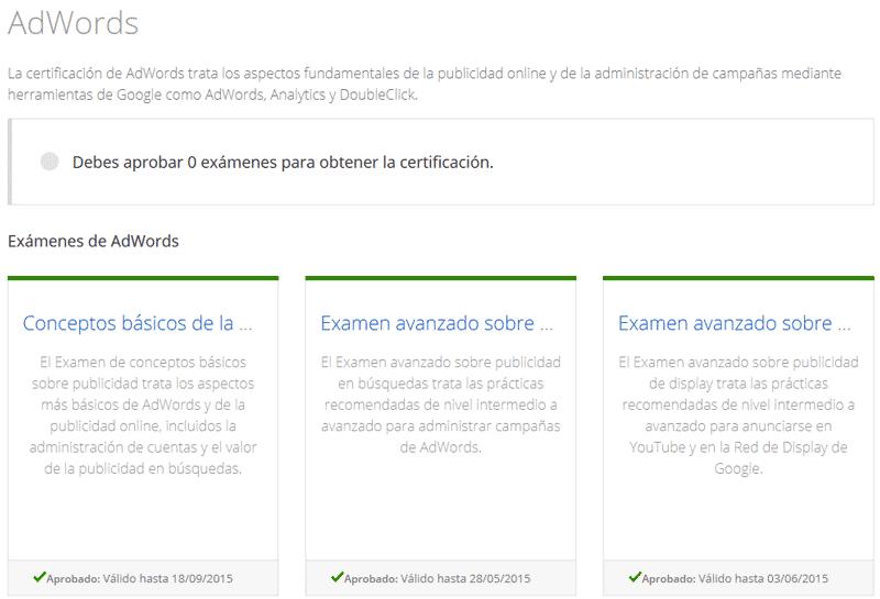 trucos para tener la certificación adwords josep maria tapia